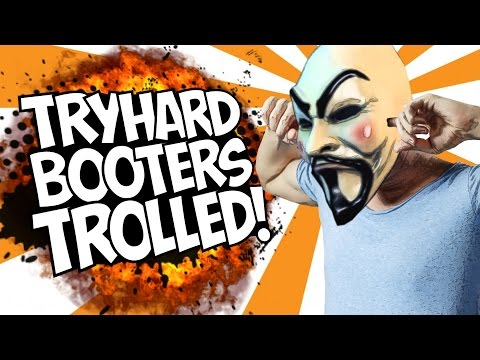 COD BO2: TRYHARD BOOTERS TROLLED!