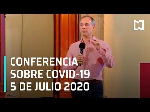 Conferencia Covid-19 en México - 5 de Julio 2020