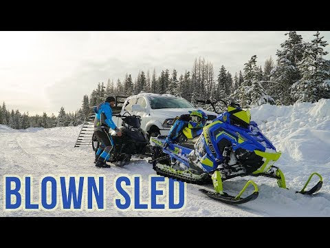 This snow was TOO DEEP!!