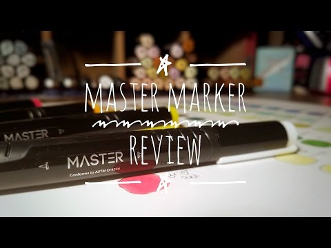 MASTER MARKER - NEW Cheap Copic Alternative?!?!?