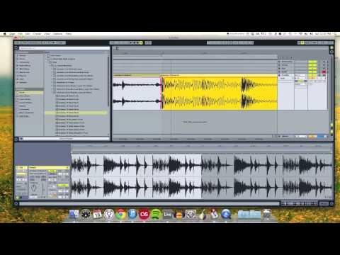 Ableton Live 9 Clip Editing Tutorial