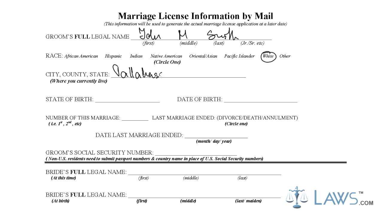 florida state, on tampa florida marriage license application form