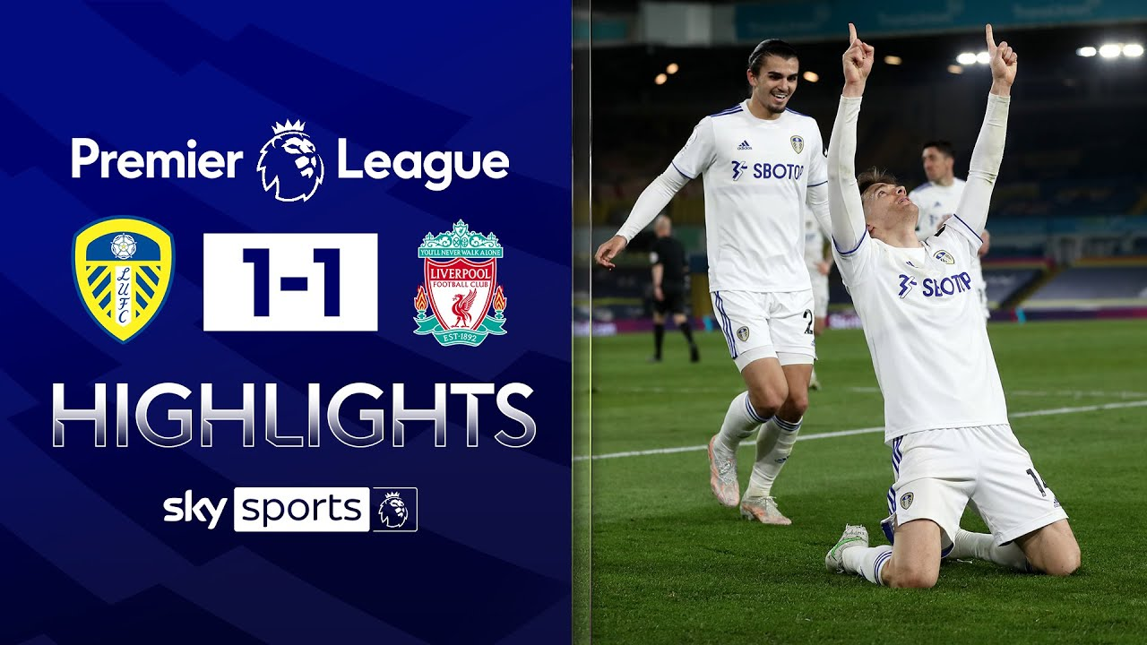 Llorente heads home late equaliser! | Leeds 1-1 Liverpool | Premier League Highlights
