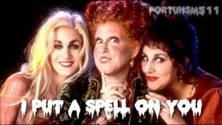 Halloween Week Uploads - 2 - I Put A Spell On You - Hocus Pocus - Song HQ CDrip + Download
