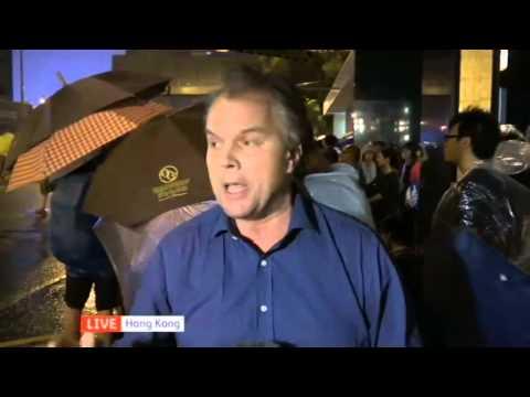 Channel 4 - Matt Frei in Hong Kong
