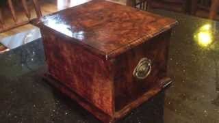 Claro Walnut Sewing Box