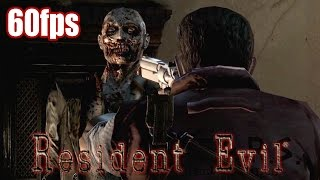 Resident Evil Remastered - PC Gameplay (60fps) TRUE-HD QUALITY