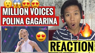 Download MY FIRST TIME Reacting to Polina Gagarina -  A Million Voices | Singer 2019 Ep. 6 Mp3 and Videos
