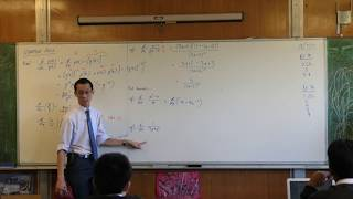 Quotient Rule (2 of 2: Examples & warnings)