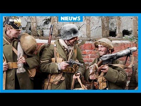 Bijzondere film uit de Eerste Wereldoorlog in kleur - Ржачные видео приколы