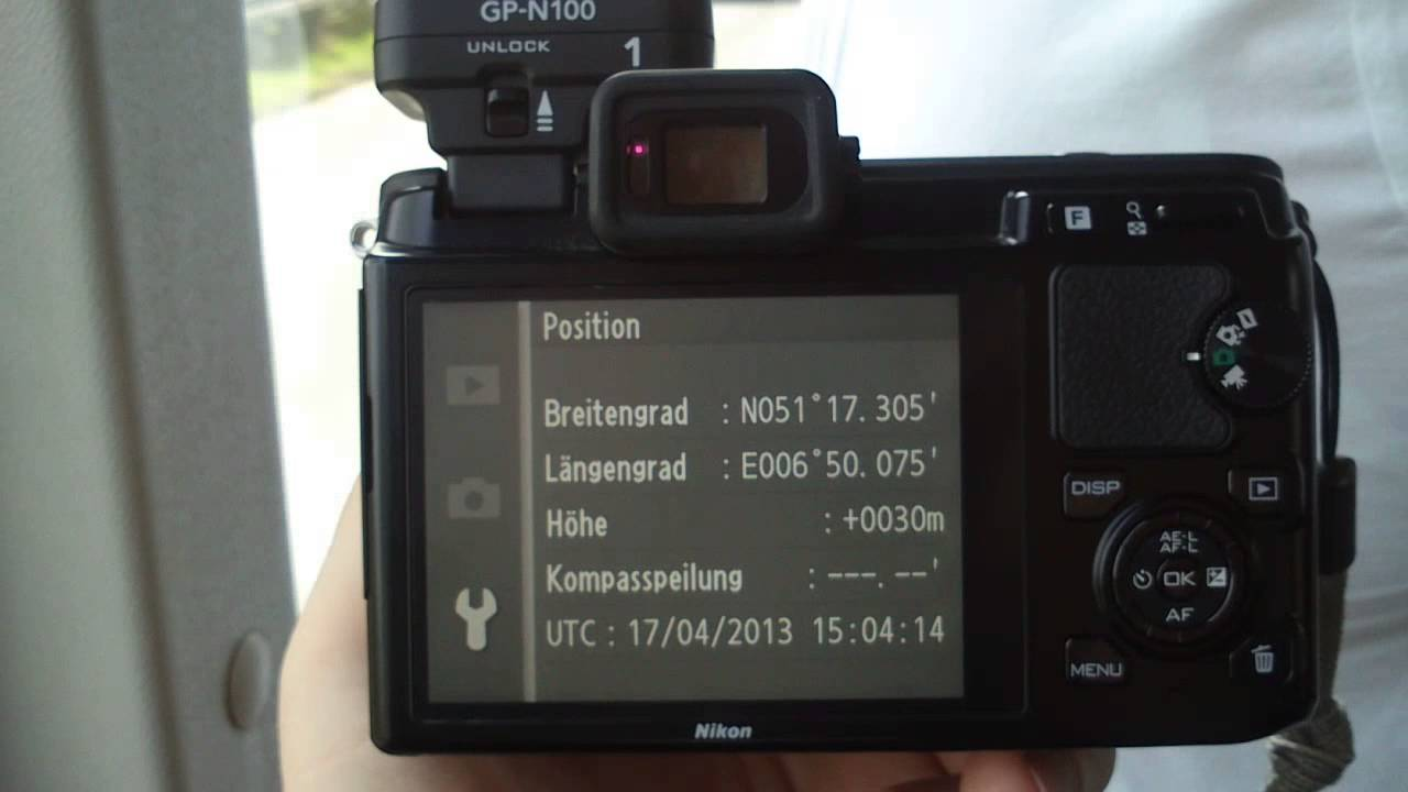 Nikon GP-N100 GPS Unit Drivers (2019)