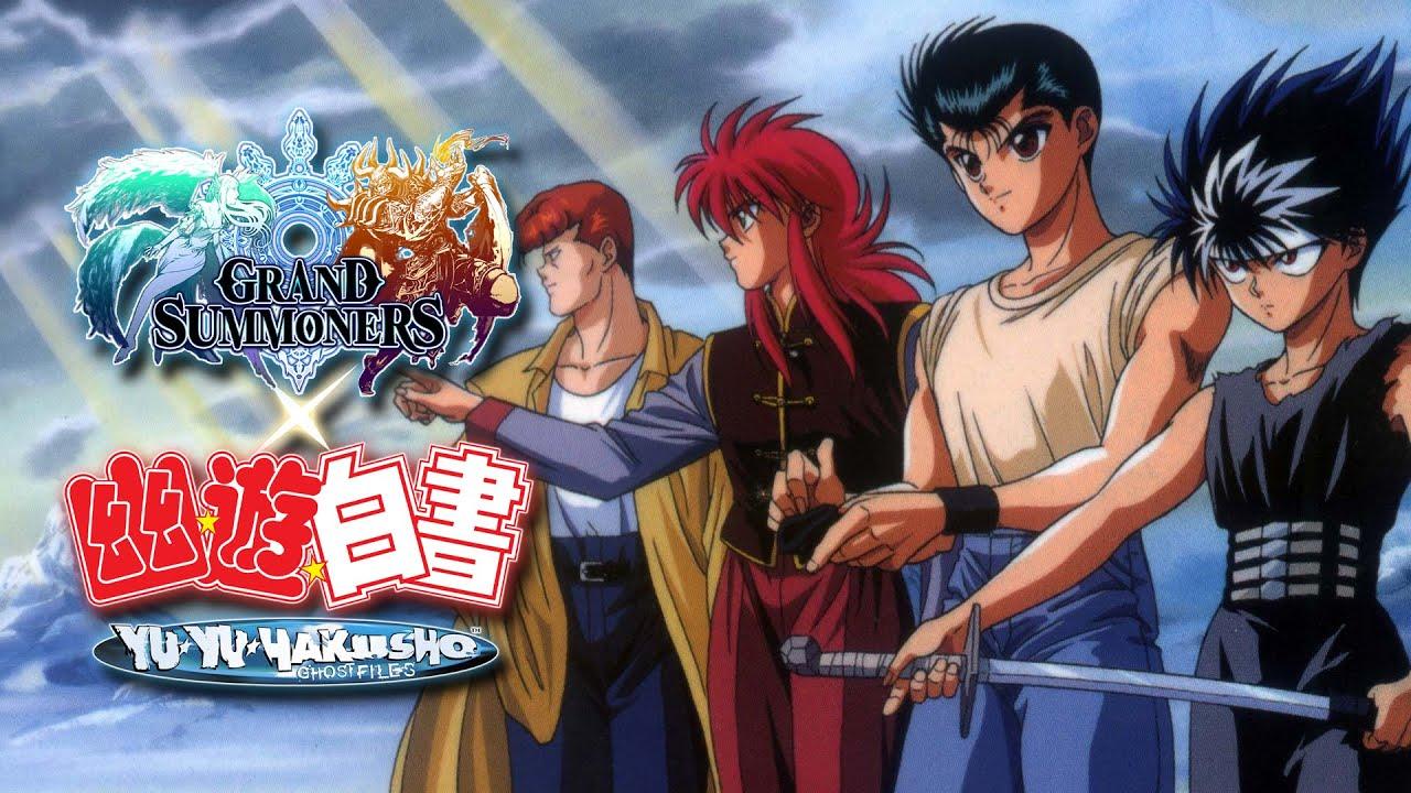 Yu Yu Hakusho Enters the World of Grand Summoners