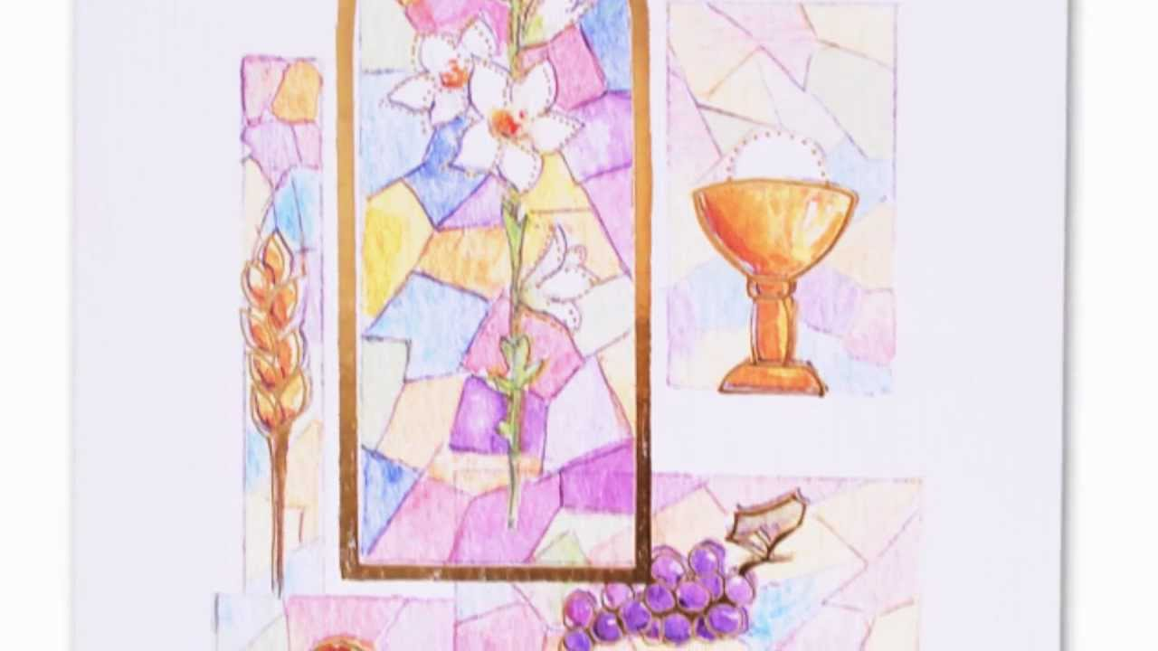 Congratulations First Communion Greeting Card Youtube