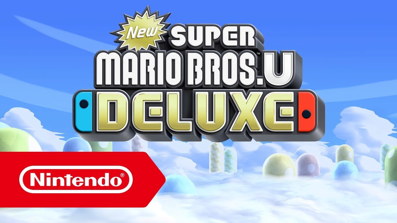 New Super Mario Bros U Deluxe Nintendo Switch Announcement