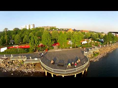 Vermont from above in HD - Paradise - Tricopter FPV - Flown with Dragon Link