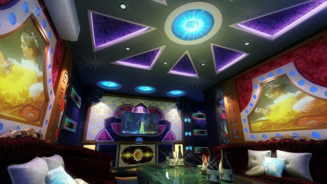 Karaoke room 07 eyes karaoke lighting youtube for Karaoke room design ideas
