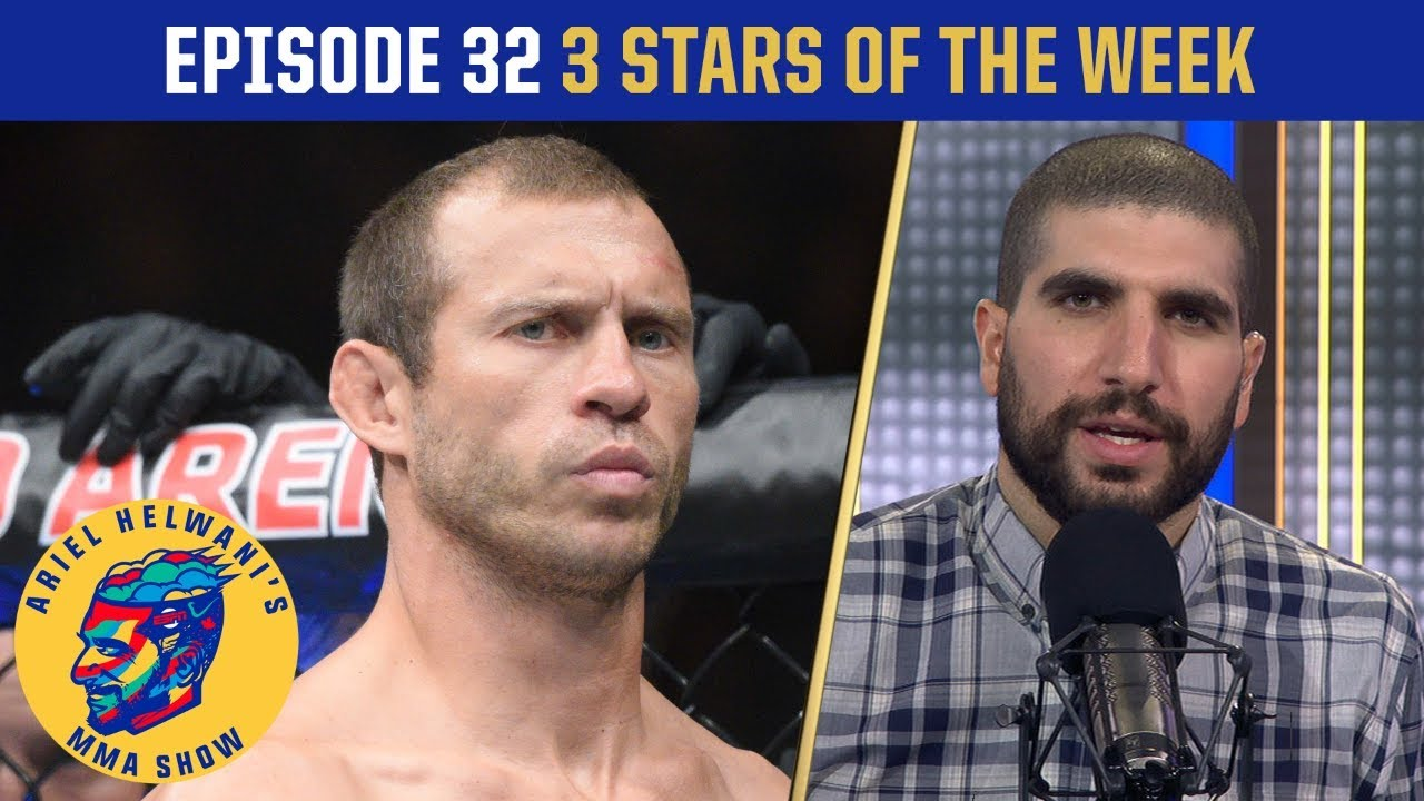 Donald Cerrone upset with Ariel | 3 Stars of the Week | Ariel Helwani's MMA Show