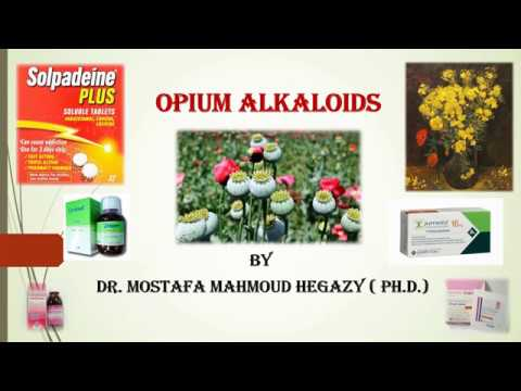 Opium Alkaloids And Derivatives  فايتو