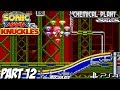 Sonic Mania Knuckles Gameplay Walkthrough Part 12 Chemical Plant Zone PS4 Lets Play mp3