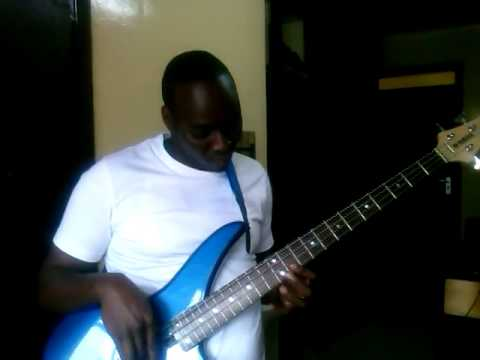 Gabriel Matinde Playing Shower Powers Without Love - Bass Version !!!!
