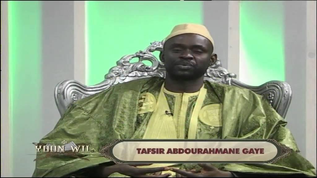 tafsir abdourahmane gaye