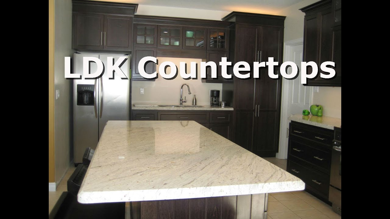 White Granite Countertops   YouTube