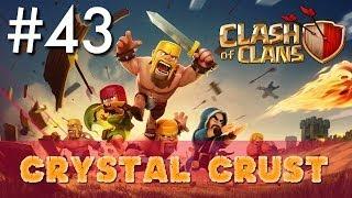 Clash of Clans - Single Player #43: Crystal Crust | Minimalist Army Playthrough