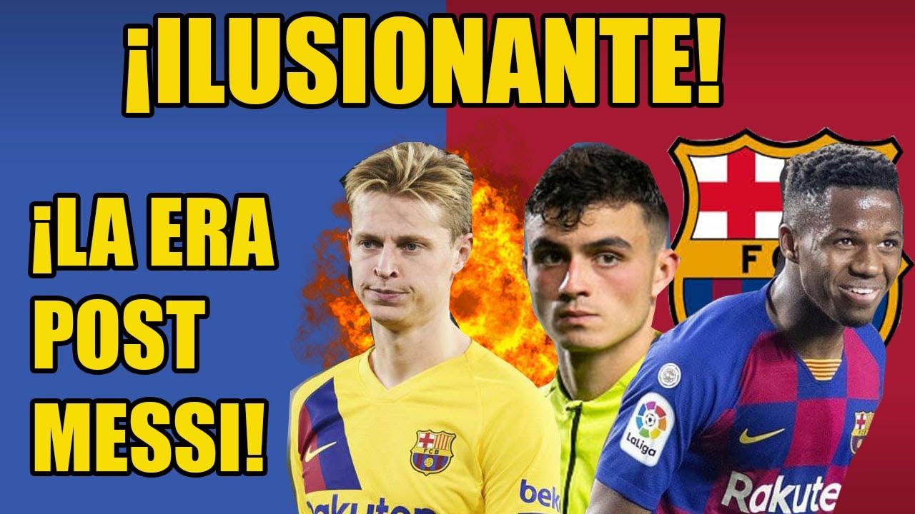 ¡TREMENDO! ¡ASI SERÁ EL EQUIPO DEL FC BARCELONA!