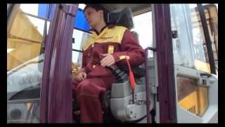 6. Порядок работы на экскаваторе ЧЕТРА ЭГП-230