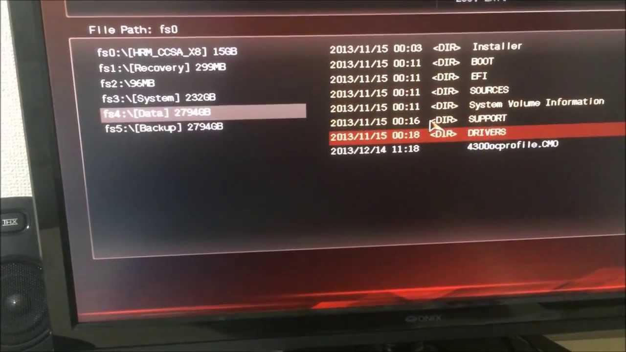 Asus Maximus VI Hero: loading bios profile from USB flash drive after a  bios flash - fail!