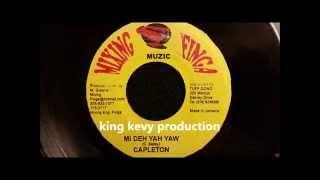 """Capleton - Mi Deh Yah Yah - Mixing Finga 7"""" w/ Version"""