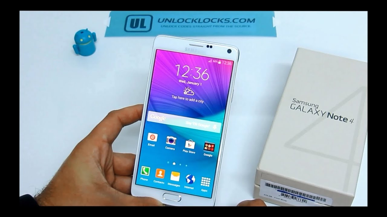 Unlock Samsung Galaxy Note 4 (step By Step Unlocking Tutorial) Youtube