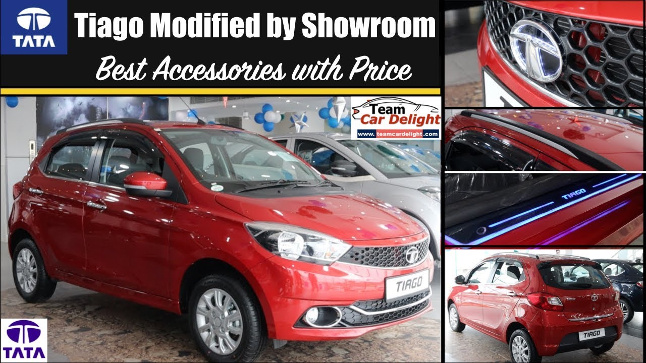 Tata Tiago Best Accessories With Price Tiago Modified
