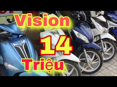#99 Vision Giá 14 Triệu - Cửa Hàng Tâm Cua Lý Bơ Tây Ninh