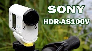 Sony HDR-AS100V: обзор экшн-камеры(Цена и наличие: http://rozetka.com.ua/sony_hdras100vr/p722584/ Видеообзор экшн-камеры Sony HDR-AS100V Смотреть обзоры других фото- и..., 2014-09-02T08:34:26.000Z)