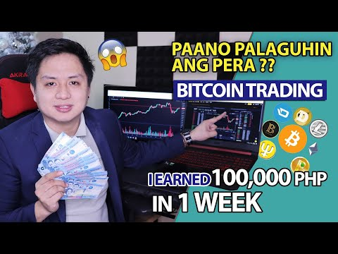 Kumita ako ng 100,000 pesos in 1 week? Doing Bitcoin Trading | Easy Binance tutorials and Indicators
