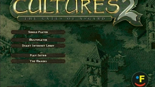 Cultures 2: The Gates of Asgard gameplay (PC Game, 2002)