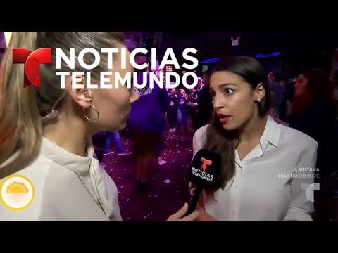 Telemundo habló con Alexandria Ocasio-Cortez tras ganar un escaño al Congreso por Nueva York | Noti