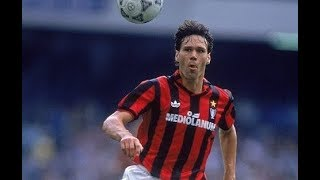 Marco VAN BASTEN Vs Fiorentina (1990) - Highlights