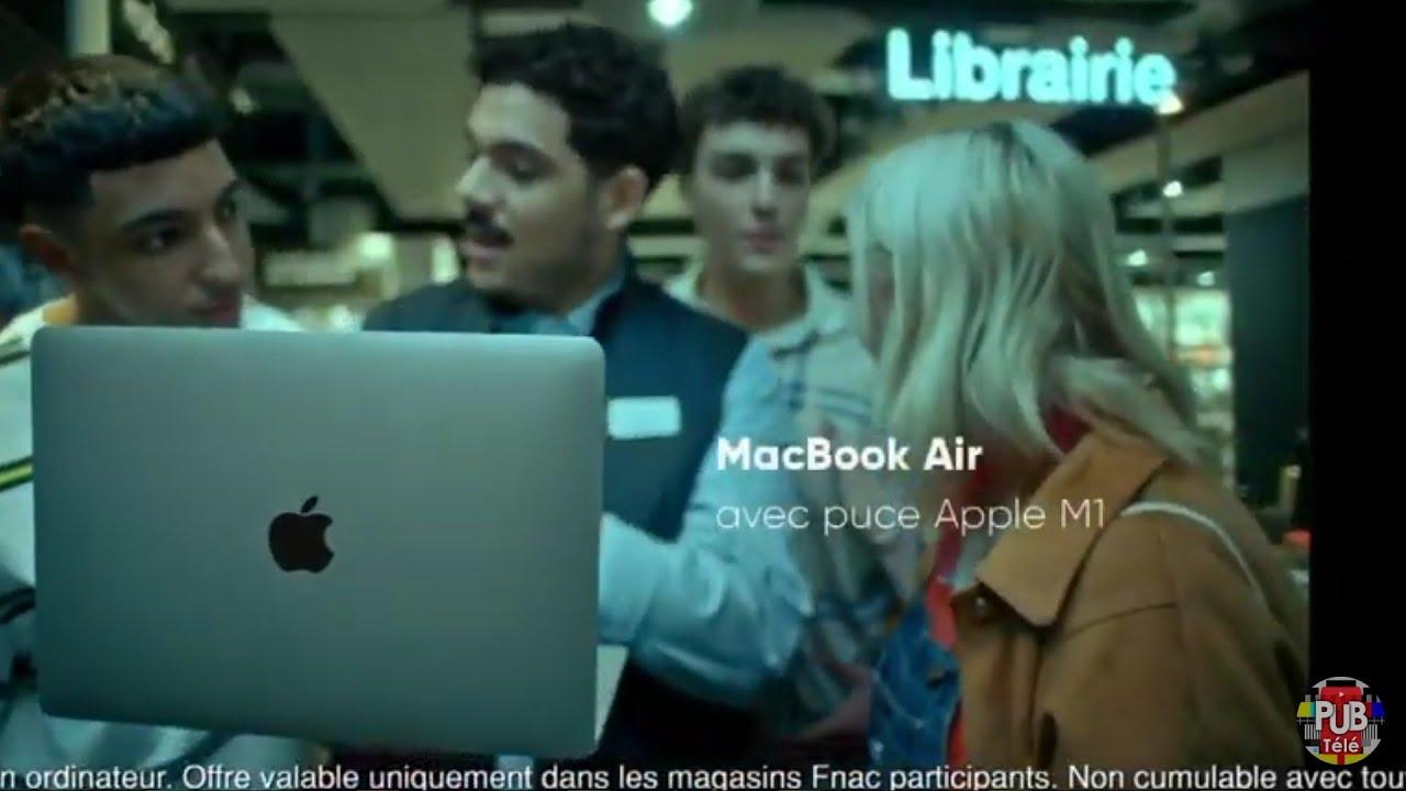 "Musique de la pub FNAC ""McBook Air""  Septembre 2021"