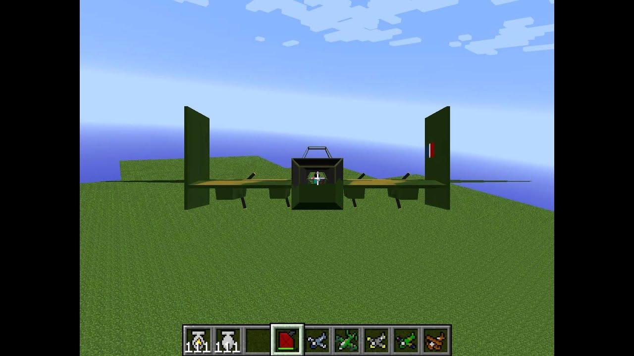 minecraft flugzeug mod 1.2.5