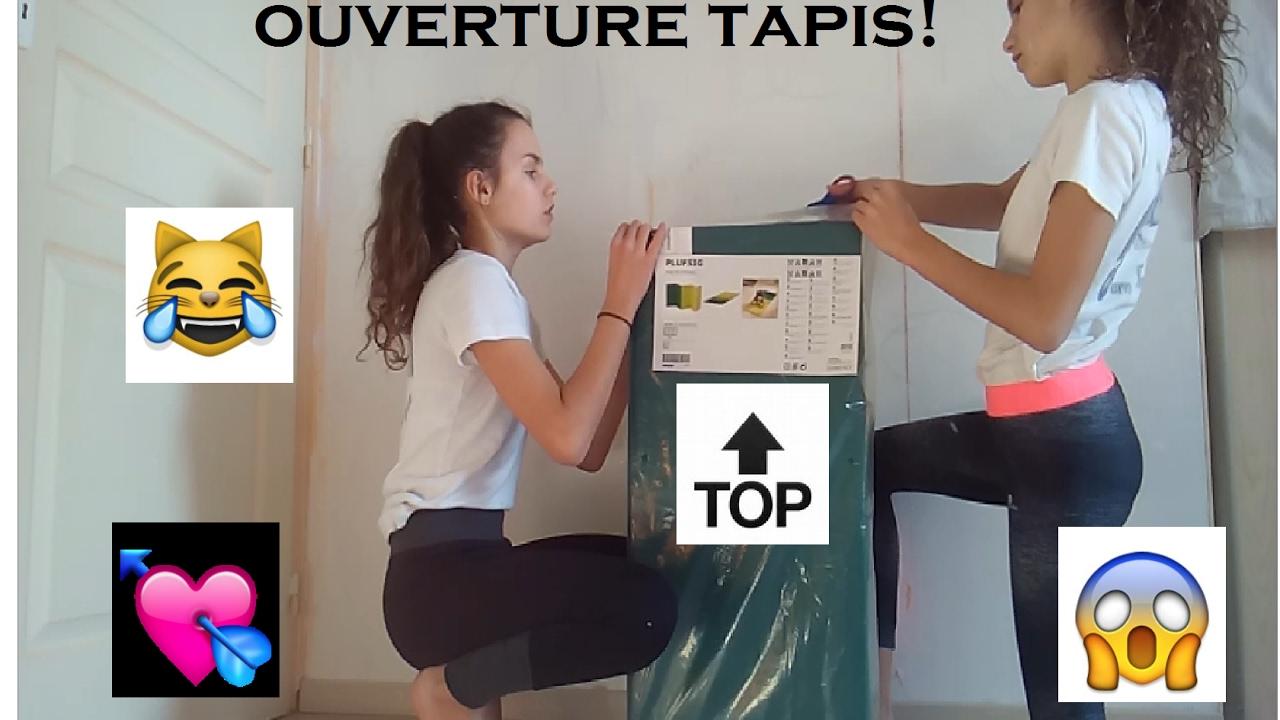 Ouverture Tapis De Gym Essayage