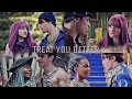 ►►Treat you better◄◄ || ♡Ben, Mal, Harry, Uma♡ {Descendants 2}