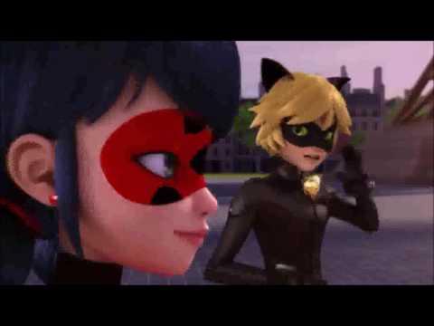 Oye niña Ladybug y Chat noir  (Ladynoir)
