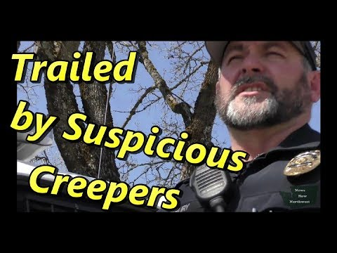 1st Amendment Audit - Trailed by Creepers