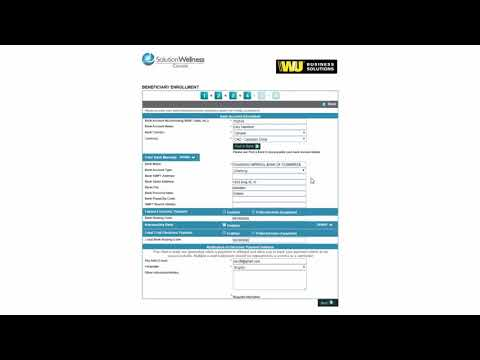 Western Union Electronic Payment Enrollment