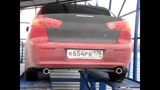NeX® _Mitsubishi Lancer X. МКПП. Полный прямоток