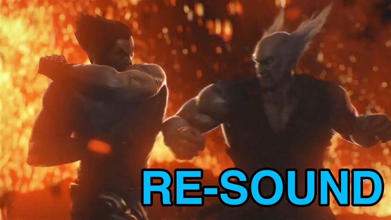 Tekken 7 Kazuya Vs Heihachi Cutscene Re Sound