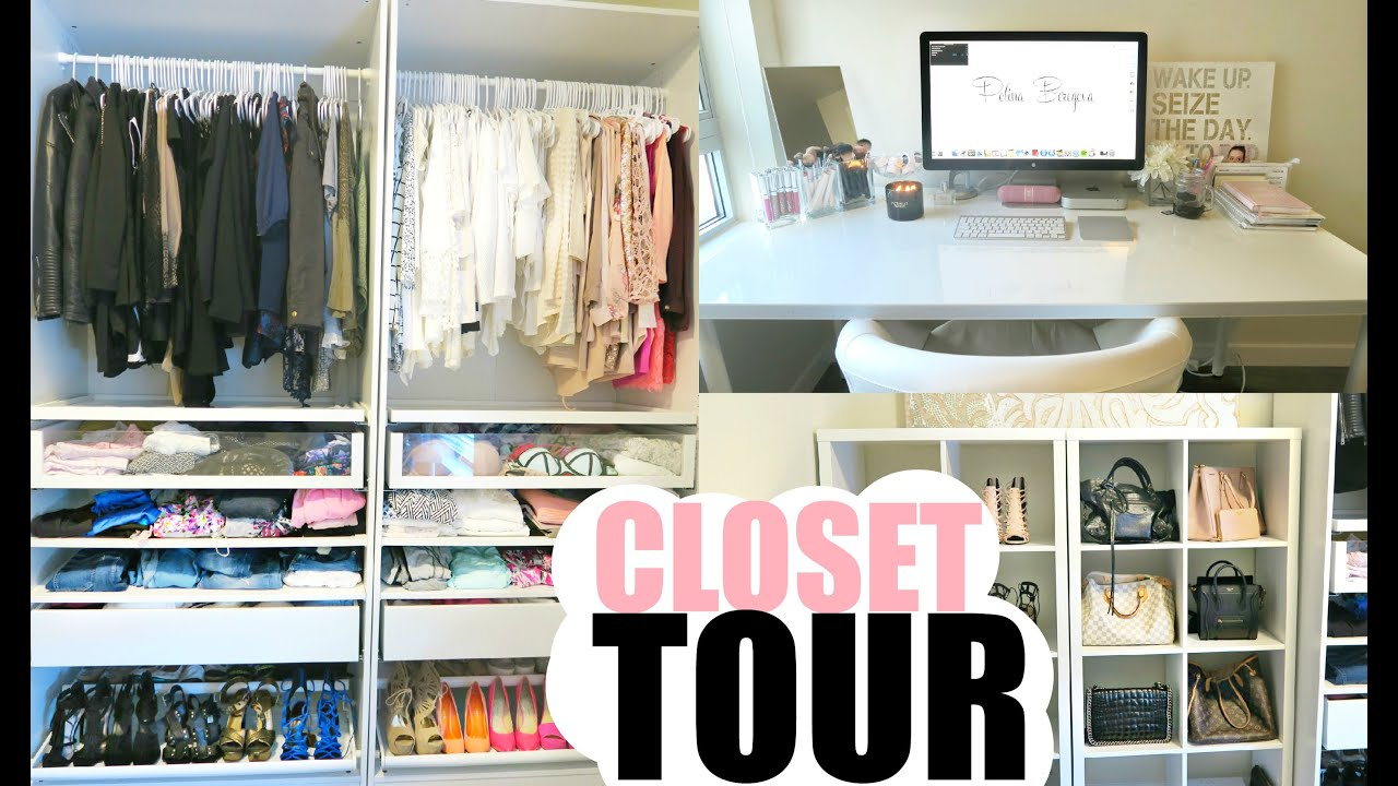 Walk In Closet Filming Room Tour