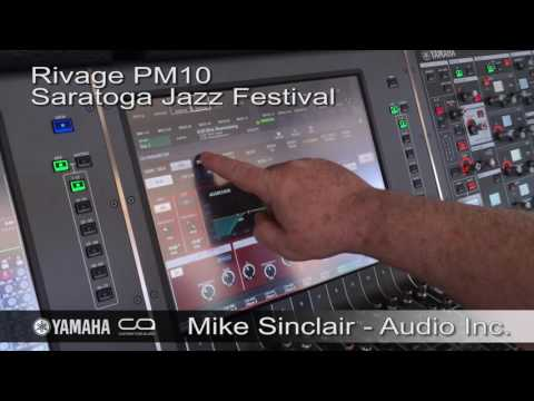 Engineer Spotlight: Mike Sinclair's Vocal Processing at the Saratoga Jazz Festival